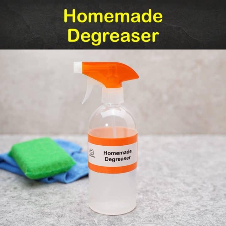 Homemade Degreaser