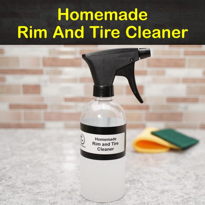 Homemade Rim and Tire Cleaner