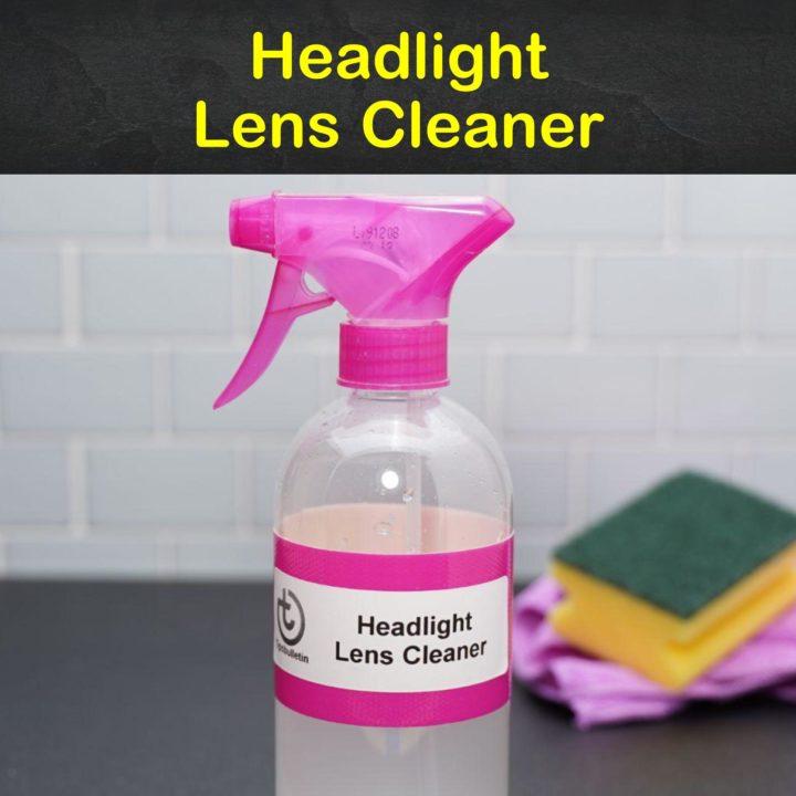 Headlight Lens Cleaner