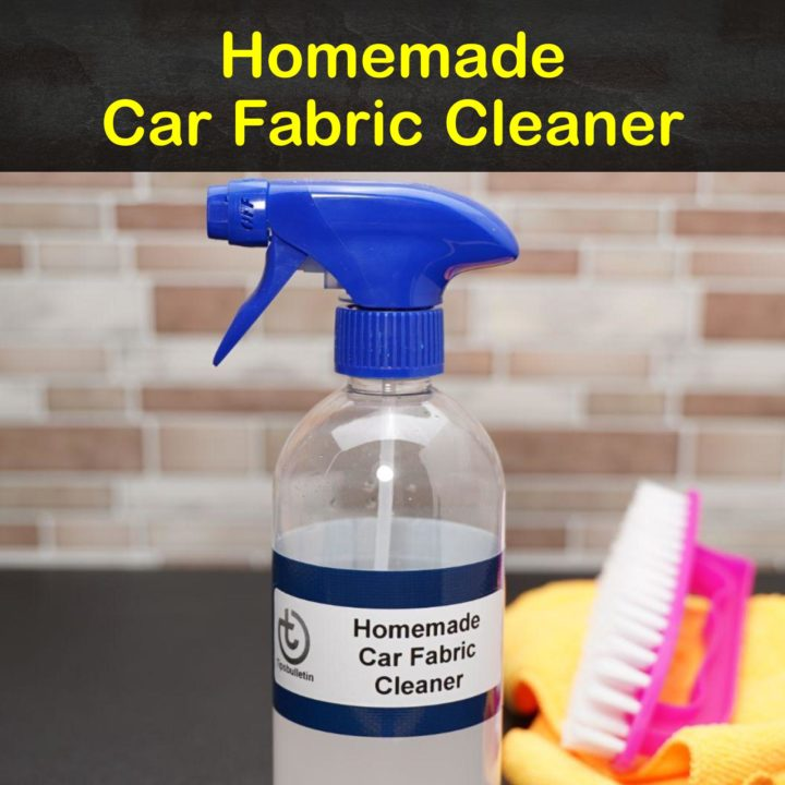 Homemade Car Fabric Cleaner