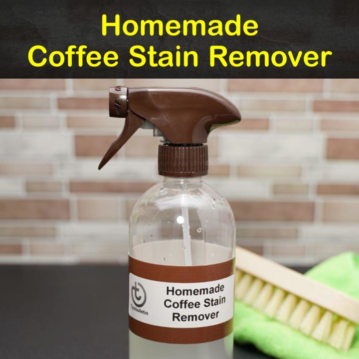 Homemade Coffee Stain Remover