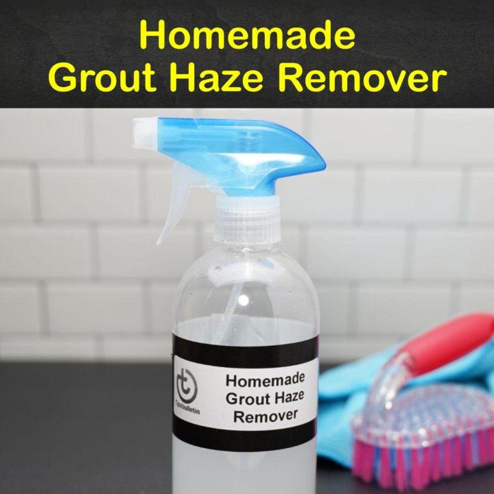 Homemade Grout Haze Remover