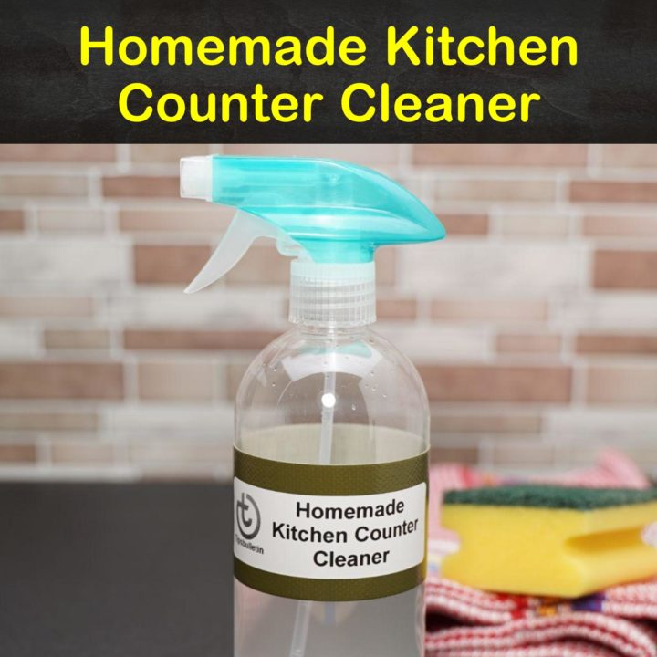 Homemade Kitchen Counter Cleaner