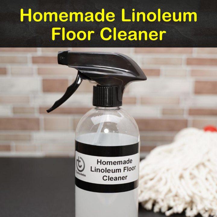 Homemade Linoleum Floor Cleaner