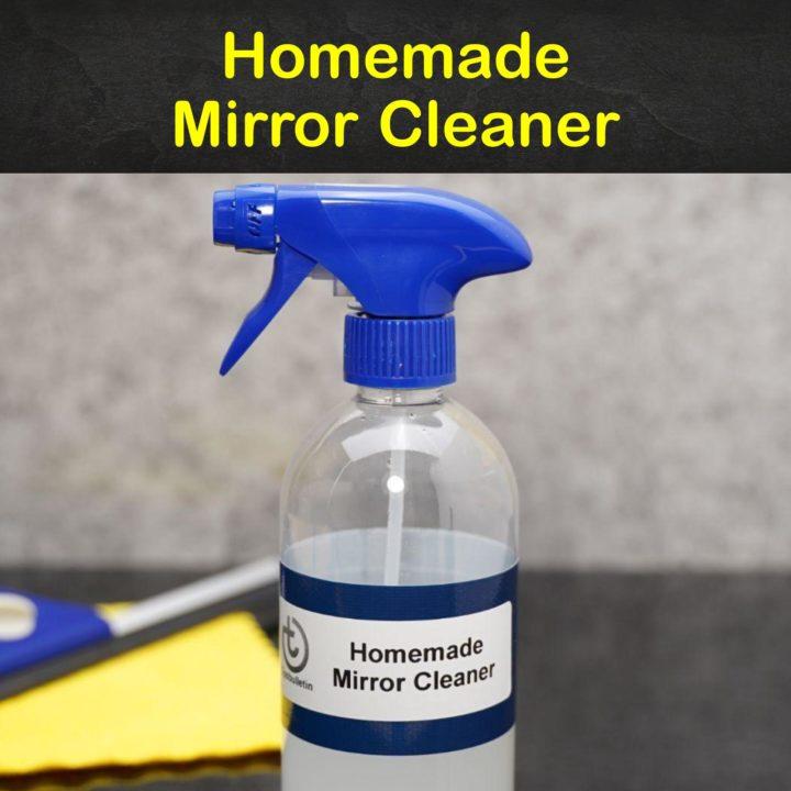 Homemade Mirror Cleaner