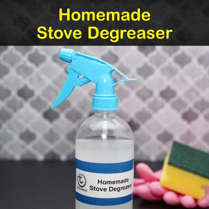 Homemade Stove Degreaser