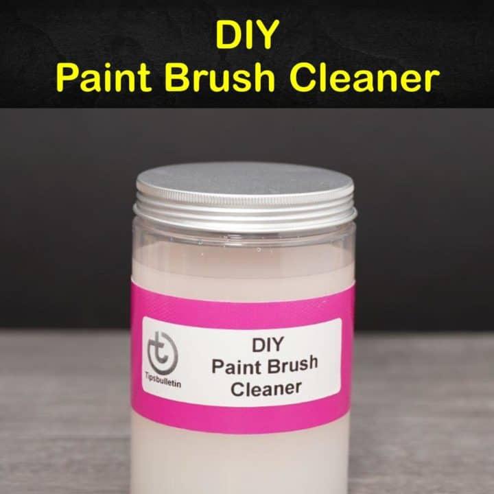 DIY Paint Brush Cleaner