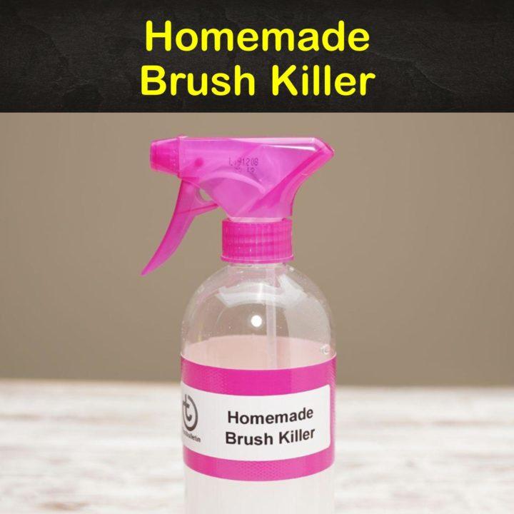 Homemade Brush Killer