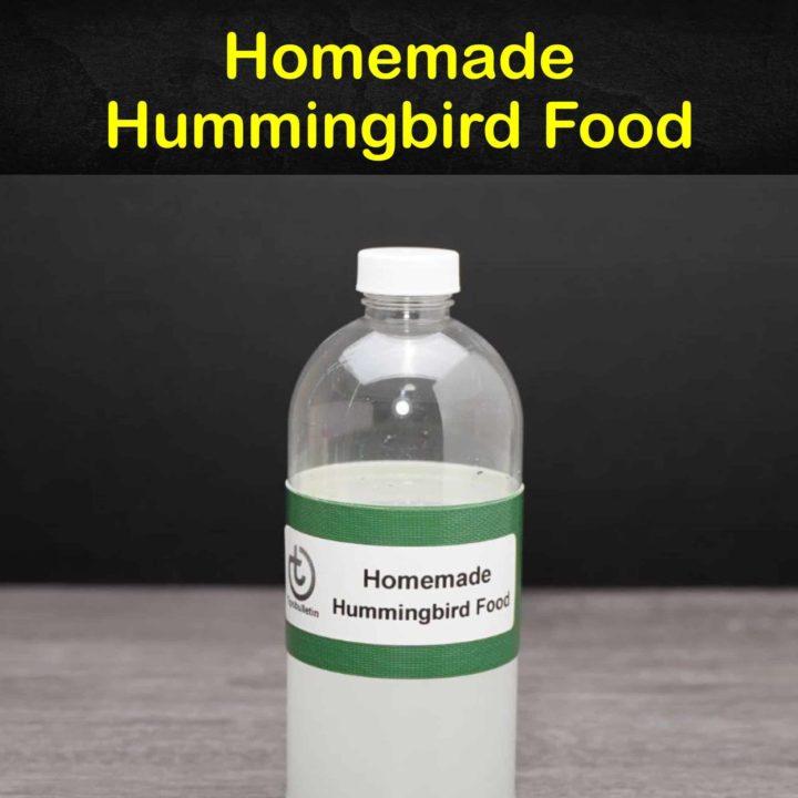 Homemade Hummingbird Food