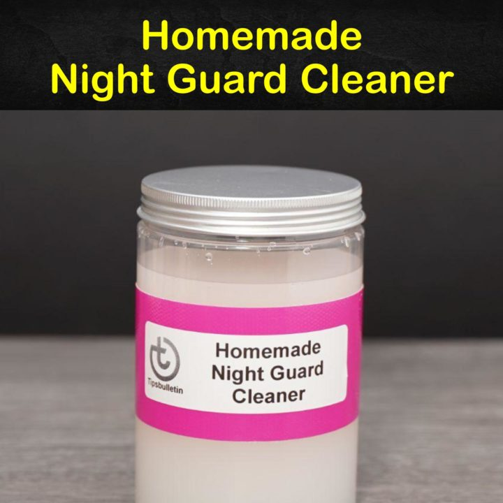 Homemade Night Guard Cleaner