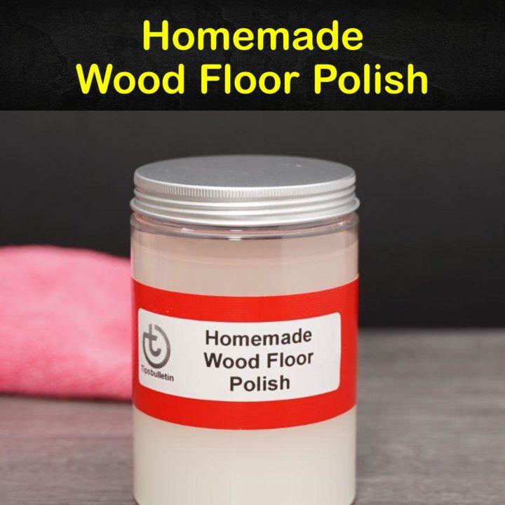 Homemade Wood Floor Polish