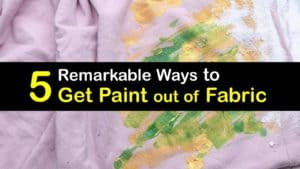 How to Get Paint out of Fabric titleimg1