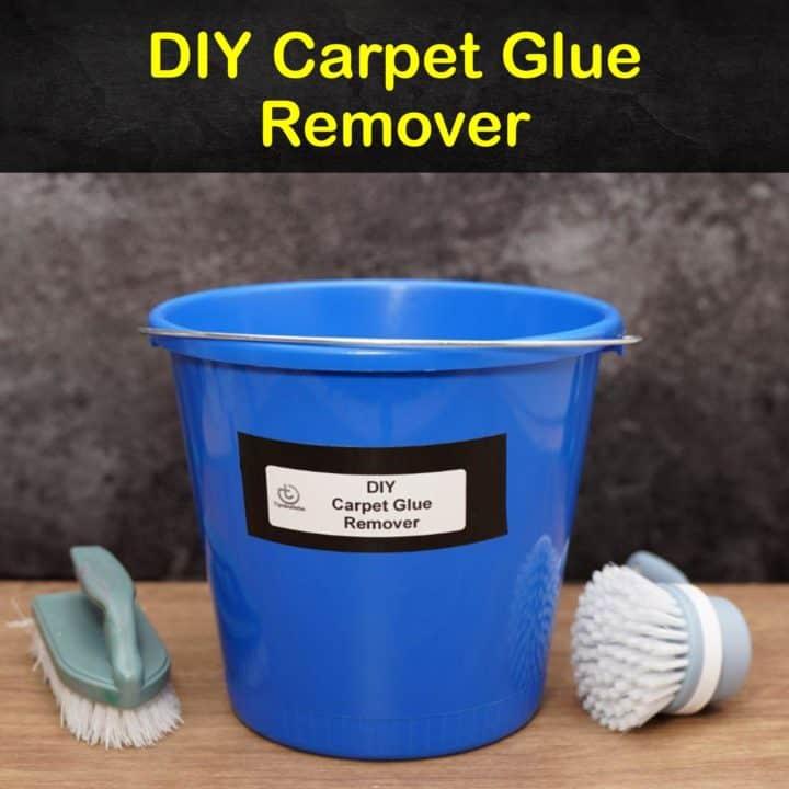 DIY Carpet Glue Remover