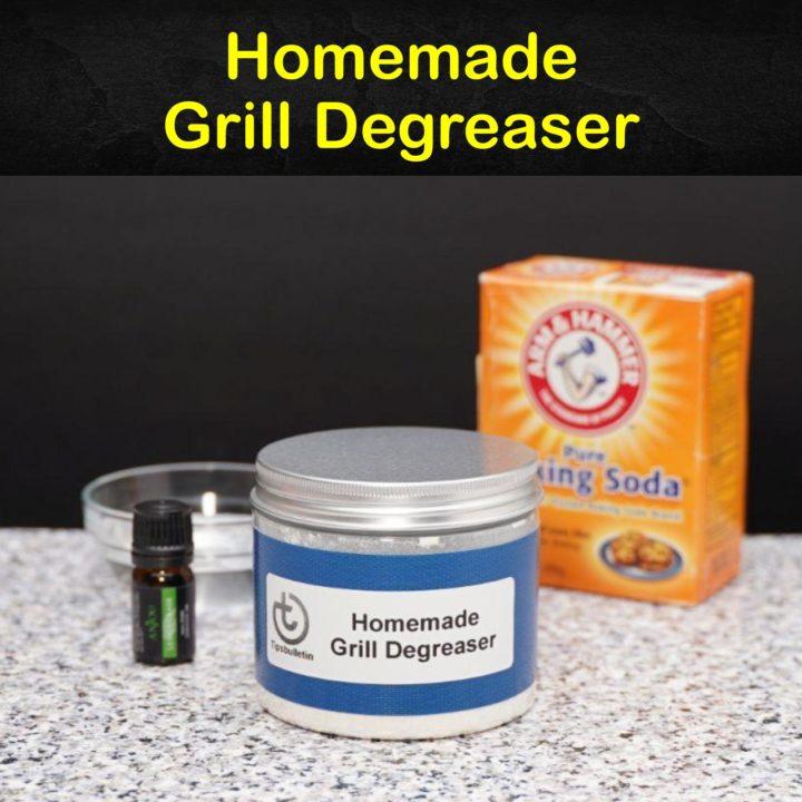 Homemade Grill Degreaser