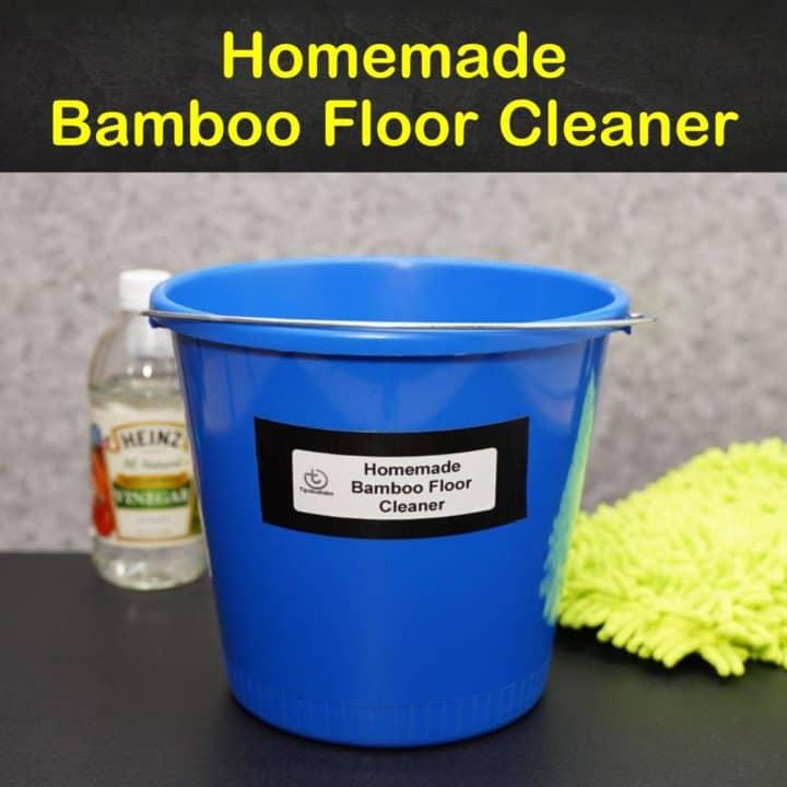 Homemade Bamboo Floor Cleaner