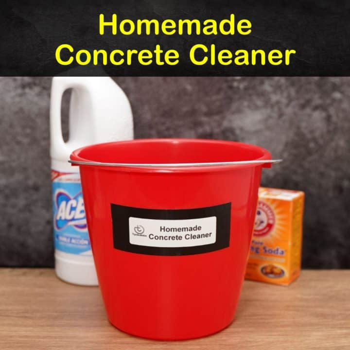 Homemade Concrete Cleaner