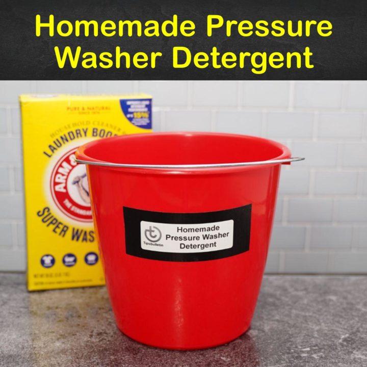 Homemade Pressure Washer Detergent