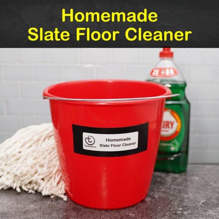 Homemade Slate Floor Cleaner